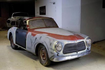 c1950 SIMCA 8 SPORT CABRIOLET Châssis n° 902072 Moteur n° 239885 A immatriculer...