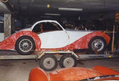 c 1952 TALBOT LAGO GRAND SPORT Châssis T26 GS Châssis court (SWB) Moteur TALBOT...