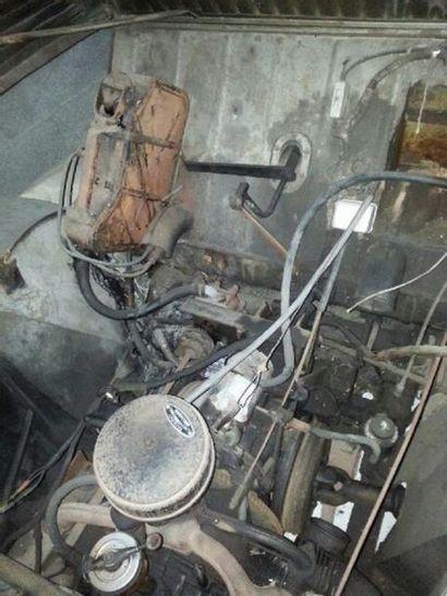 1950 CITROEN 2CV  TYPE A «FEDERSPIEL»  N° de châssis : 0001268  Sortie d'usine le...