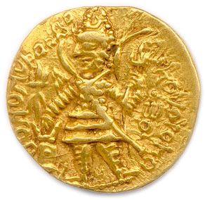 KOUCHANS – VASU DEVA II (290 - 320) Le roi...