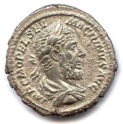 MACRIN Macrinus (217 - 218) Denier d'argent...