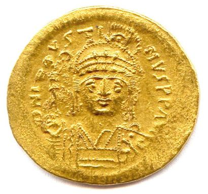 JUSTI NIEN Ier (527 – 565) Solidus (sou d'or)...