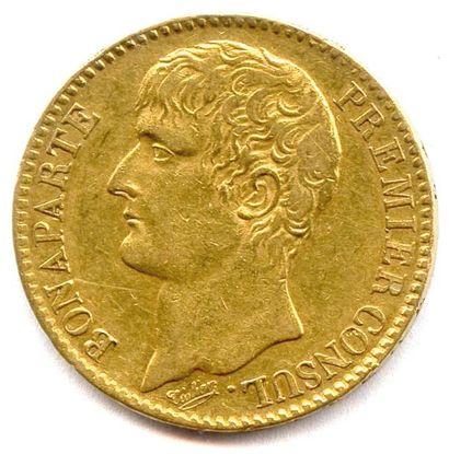 BONAPARTE PREMIER CONSUL (1799 - 1804) 40...