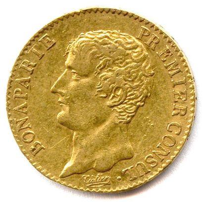 BONAPARTE PREMIER CONSUL 20 Francs or an...