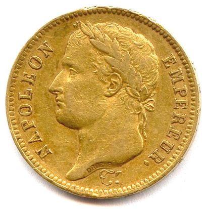 NAPOLÉON Ier 40 Francs or (tête laurée) 1808...