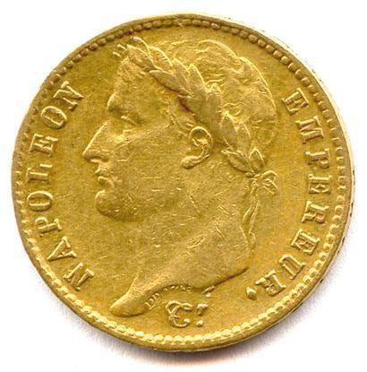 NAPOLÉON Ier 20 Francs or (tête laurée) 1809...