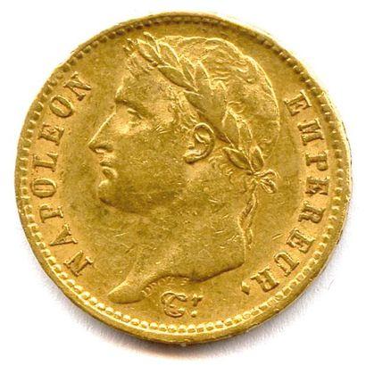 NAPOLÉON Ier 20 Francs or (tête laurée) 1810...
