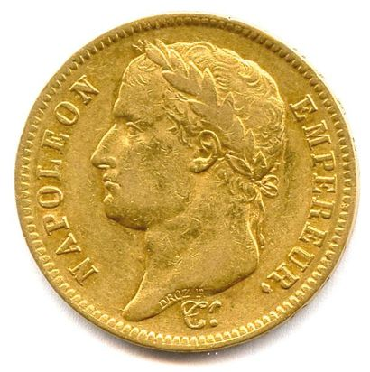 NAPOLÉON Ier 40 Francs or (tête laurée) 1812...