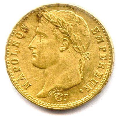 NAPOLÉON Ier 20 Francs or (tête laurée) 1812...
