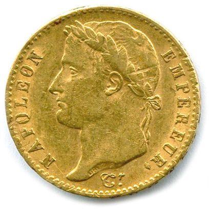 NAPOLÉON Ier – LES CENT JOURS 20 Francs or...