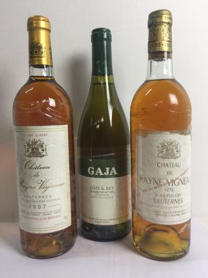 1 Blle Château RAYNE VIGNEAU (Sauternes)...