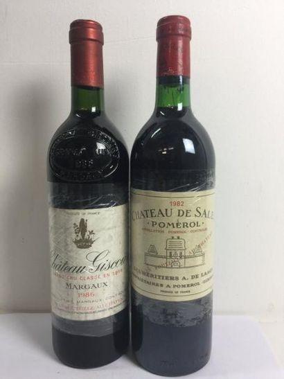 1 Blle Château GISCOURS (Margaux) 1986 -...