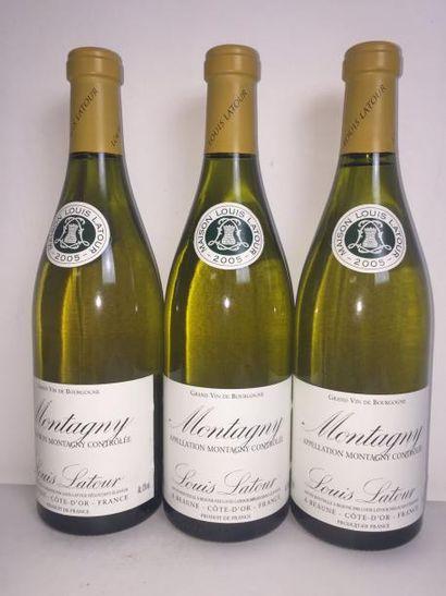 3 Blle MONTAGNY (Louis Latour) 2005 - Très...