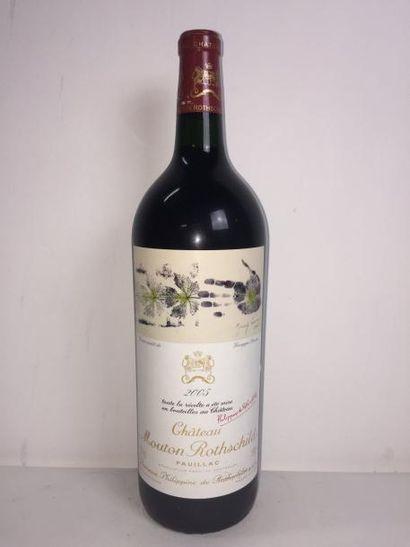 1 Mag Château MOUTON ROTHSCHILD (Pauillac)...