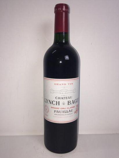 6 Blle Château LYNCH BAGES (Pauillac) 2005...