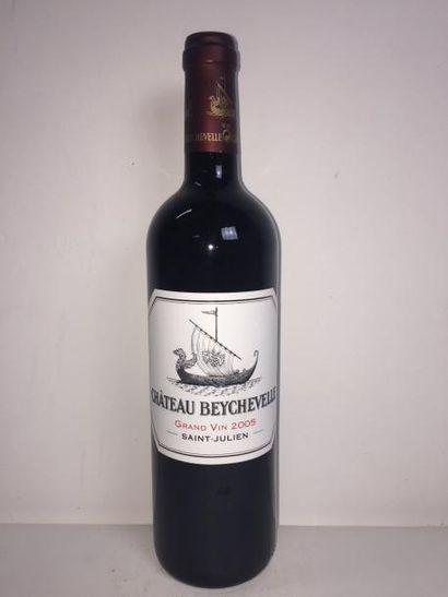 6 Blle Château BEYCHEVELLE (St Julien) 2005...