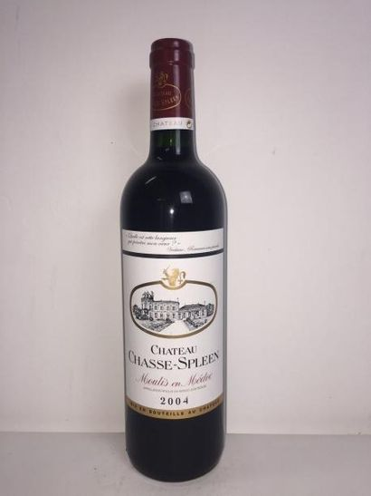 4 Blle Château CHASSE SPLEEN (Moulis) 2004...