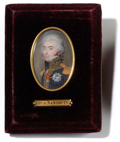 Daniel Saint (1778-1847) Portrait du général...