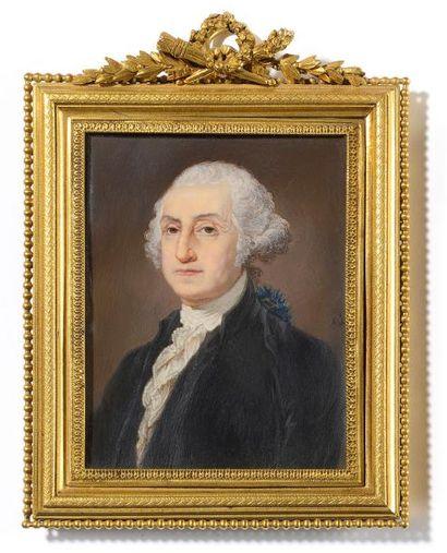 A.J. Alphonse Jame (1804-apres 1880) Portrait...