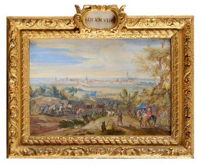 Ecole française du début du XVIIIe siècle...