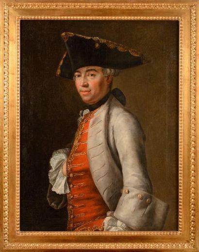 Ecole française du XVIIIe siècle. « Portrait...