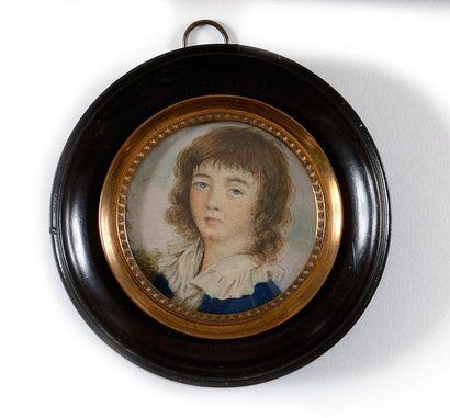 Ecole Française du XIXe siècle « Portrait...