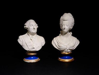 Le Roi Louis XVI et la Reine Marie Antoinette...