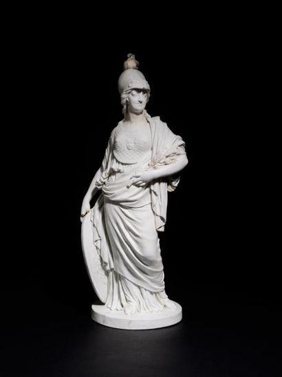 Sèvres Figure en biscuit de porcelaine dure...