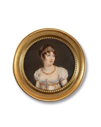 P. de GIUSTI (Actif en Italie de 1800 à 1830)...
