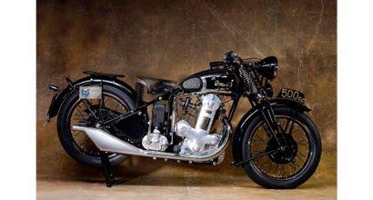 1937  Benelli  type 500 tN  Cadre n° 105945...