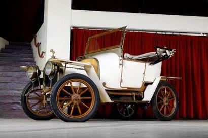 1911 LE ZEBRE  Type A  Châssis n° 638  Ex...
