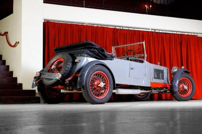 1927 ALFA ROMEO Type : 6C 1500 Châssis n° 01111211 A immatriculer en collection...