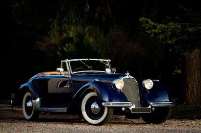 1938  Talbot T15 Cabriolet Baby  châssis...