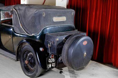 1928 BUGATTI TYPE 44  CHASSIS 44646 moteur 402  Cabriolet Vanvooren 4 places  Le...