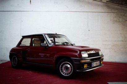 1983  RENAULT R5 TURBO 2  Numéro de série...