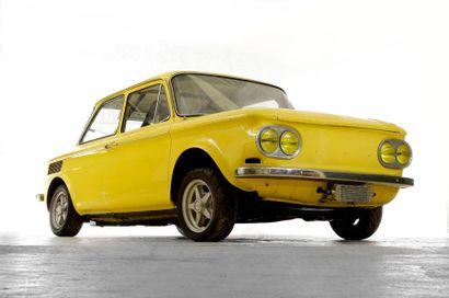 1969  NSU 1000 TTS  Numéro de série 34001068...