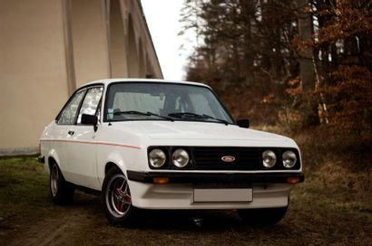 1977  FORD ESCORT RS 2000 (MKII)  Numéro...