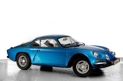 1974  ALPINE-RENAULT A110 1300  Numéro de...