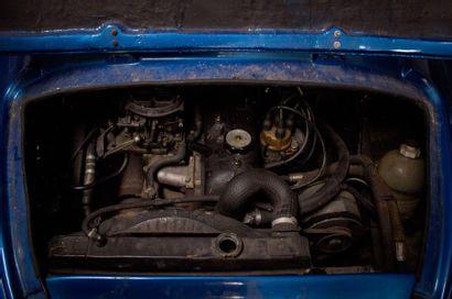 1974  ALPINE-RENAULT A110 1300  Numéro de série 14393  Carte-grise française  Beau...