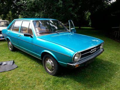 1975  AUDI 80 L  Numéro de série 8352091226...