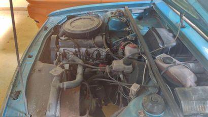 1975  AUDI 80 L  Numéro de série 8352091226  Née de la mort de NSU, l'Audi 80 B1...