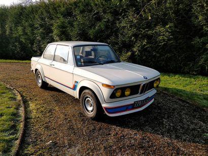 1974  BMW 2002 TURBO  Numéro de série 4290146...