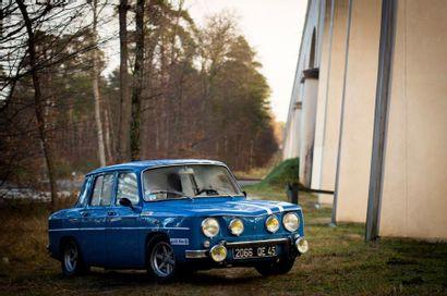 1967  RENAULT R8 GORDINI 1300 TYPE 1135  Numéro...