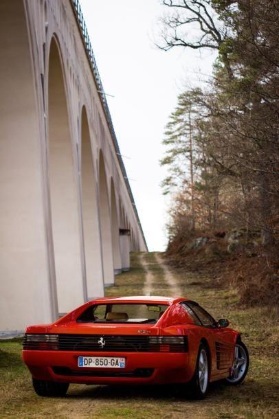 1994  FERRARI 512 TR  Ex Johnny Halliday  Numéro de série ZFFLA40B000098300  Vendue...