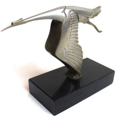 Francois Victor BAZIN (1897-1956)   « Mascotte Hispano-Suiza » « Cigogne »  Petit...