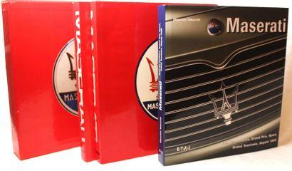 «Livres sur Maserati»  -Catalogue raisonné...