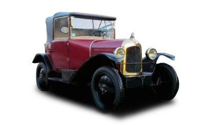 1923  CITROËN 5HP TYPE C CABRIOLET  Châssis...