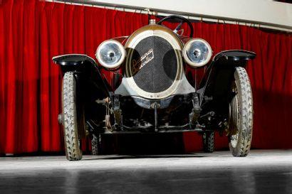 1924  DELAUNAY-BELLEVILLE P4B SKIFF  Numéro de série 12647  Carte grise française...