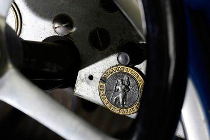 C1927  AMILCAR CGSS  Numéro de série 19132  Même propriétaire depuis 1985  Carte...