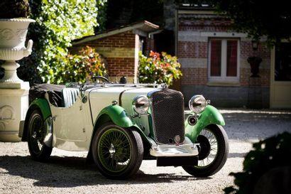 1933  SINGER NINE SPORTS LE MANS  Numéro...